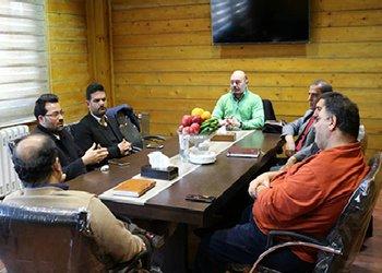 جلسه مشترک سرپرست منطقه سه شهرداری قزوین با مدیرعامل شرکت دهکده طبیعت بوستان باراجین برگزار شد