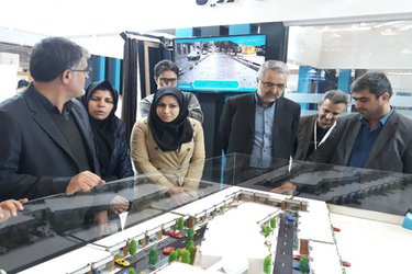شهردار تاکستان در نمایشگاه بین المللی مسکن، شهرسازی و بازآفرینی شهری