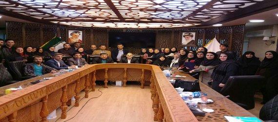 جمعی از پرستاران گرگانی در شورای شهر تجلیل شدند