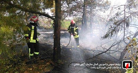 تلاش آتش نشانان در ۴۸ ساعت گذشته به ۸۵ عملیات رسید
