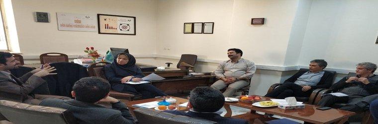 برگزاری نشست محققین شرکت توزیع برق جنوب استان کرمان با پژوهشگاه نیرو در راستای تجاری سازی محصولات ساخته شده