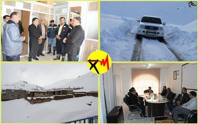 بازدید مدیر عامل شرکت توزیع برق استان از وضیعت شبکه های برق رسانی شهرستان کوهرنگ