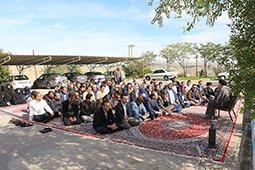 دیدار امام جمعه شهرستان اندیمشک با  کارکنان سد و نیروگاه دز