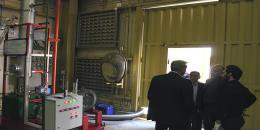 """کاندید شدن پروژه تحقیقاتی """"بازیافت آب ازگازهای خروجی از دودکش نیروگاه سیکل..."""