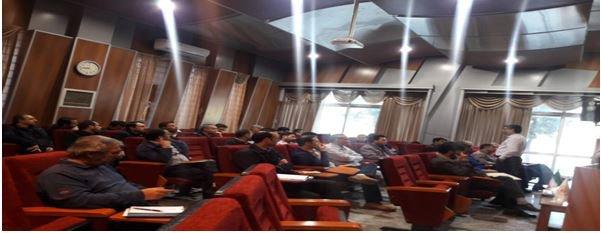 دوره مدیریت بحران در نیروگاه مشهد برگزار شد