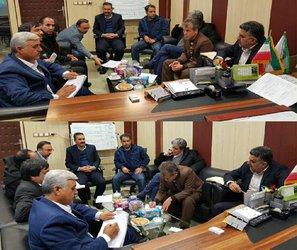 نشست مدیرعامل شرکت آب منطقه ای لرستان با مدیرکل منابع طبیعی استان