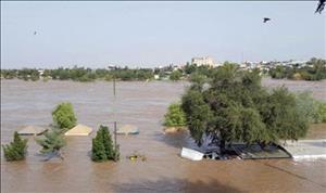 دبی رودخانه دز از مرز ۸۰۰ مترمکعب گذشت