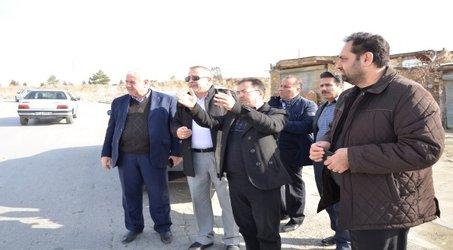 بازدید مدیر امور آب و فاضلاب ارومیه از منطقه بادکی ارومیه