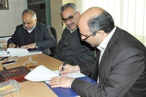 امضای تفاهم نامه احداث ۱۲۰۰ واحد مسکونی در شهر بهارستان