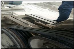 جلوگیری از فعالیت یک واحد کارخانه شن و ماسه  در منطقه معادن شهرستان قدس