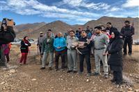 تیمار و رهاسازی یک راس جبیر توسط یگان حفاظت محیط زیست شهرستان سیرجان