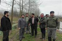 رفع تصرف ۹هکتار از اراضی حفاظت شده صومعه سرا