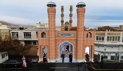 اجرای طرح ساماندهی، احیاء و جداره سازی ورودی مسجد جامع تبریز