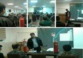 برگزاری کلاس آموزشی اطفای حریق به پرسنل سپاه طالقان