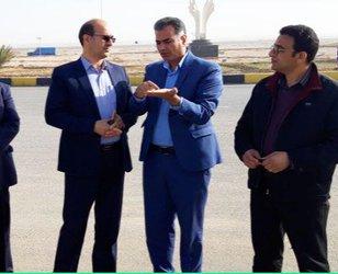 بازدید مدیرکل دفتر امور شهری و شوراهای استانداری خراسان جنوبی از پروژههای شهرداری طبس