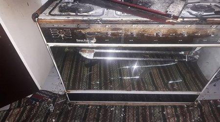 آتش سوزی یک باب منزل مسکونی در یاسوج مهار شد /تصاویر