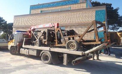 ۲ دستگاه حفاری غیرمجاز چاه آب در استان اصفهان توقیف شد