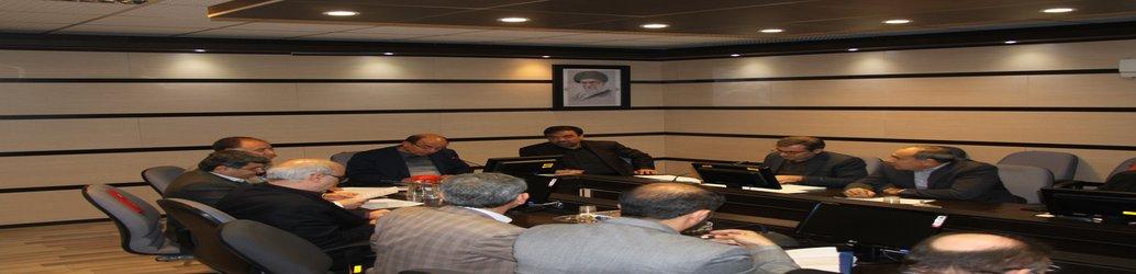 جلسه کارگروه تخصصی امور زیر بنائی استان تشکیل شد