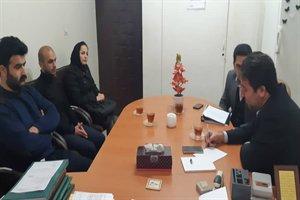 نشست مدیرکل راه و شهرسازی با رئیس و کارکنان اداره راه و شهرسازی تالش