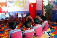 برگزاری کلاس آموزش های زیست محیطی جهت دانش آموزان،توسط اداره حفاظت محیط زیست شهرستان انار به مناسبت روز هوای پاک
