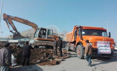 اصلاح ورودی کوی کردان و شهرک شهید مدنی