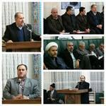 دیدار اعضای شورای اسلامی شهر و شهردار ارومیه با شهروندان منطقه آزادگان برگزار شد.