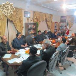 جلسه هم اندیشی شهرداری و شورای اسلامی با نخبگان ، فرهیختگان و  فرماندار محترم