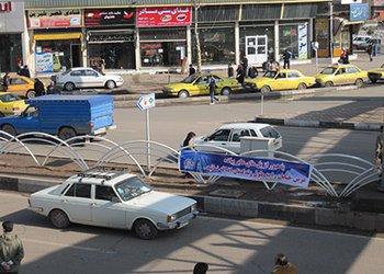 نرده های رفوژ میانی بلوار اسدآبادی تعویض می شود