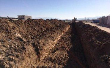 آغاز عملیات اجرایی پروژه مدیریت آبهای سطحی شهر بوئین زهرا