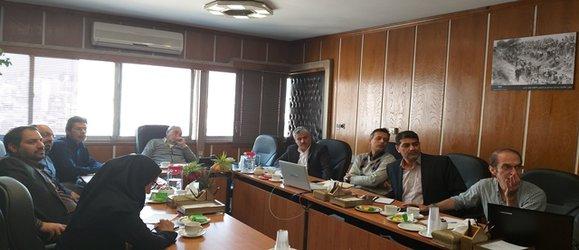 برگزاری جلسه ستاد ملی فرماندهی سیلاب در شرکت مدیریت منابع آب ایران