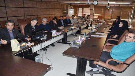نشست تخصصی کار تیمی در شرکت آب منطقه ای کرمانشاه برگزار شد