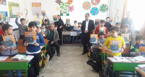 کارگاه آموزشی مصرفه بهینه آب دریکی از مدارس ابتدایی سقز برگزار شد