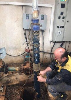 اجرای طرح تقویت فشار آب شرب یکهزار خانوار روستایی شهرستان شفت