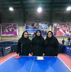 کسب مقام اول توسط شرکت آبفای شهری استان در مسابقات تنیس روی میز کارمندان استان