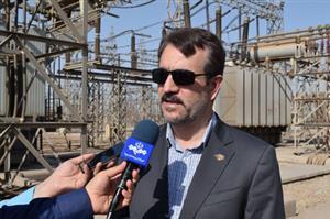 بهره برداری از فاز اول پست آنزان شرکت برق منطقه ای خوزستان