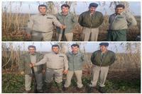 دستگیری شکارچیان غیرمجاز دربابل،آمل و ساری