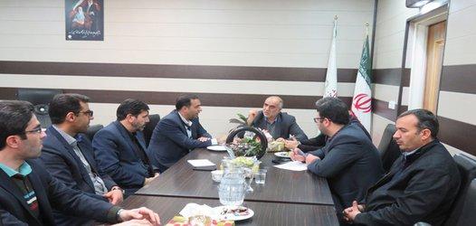 برگزاری جلسه برنامه ریزی چهلمین سالگرد انقلاب ویژه برنامه های شهرداری خوانسار