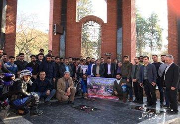 حضور شهردار و اعضای شورای اسلامی شهر در رژه