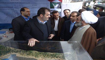 ملاقات عمومی مدیران دستگاههای اجرایی استان در نمایشگاه دستاوردهای انقلاب اسلامی