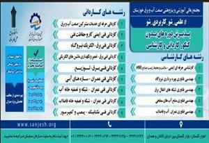 دانشگاه جامع علمی کاربردی واحد صنعت آب و برق خوزستان دانشجو می پذیرد