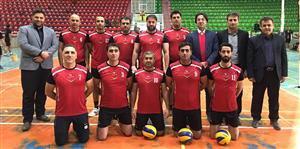 نائب قهرمانی تیم والیبال آبفار مازندران