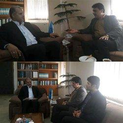 دیدار مدیرعامل شرکت  آبفار گلستان  با مدیرکل صدا و سیمای استان