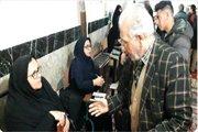 میزخدمت باهدف تکریم ارباب رجوع در محل مسجد جامع شهر شوقان برگزار شد