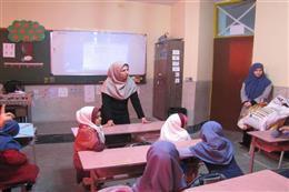 برگزاری زنگ آموزش در مدارس رباط کریم به مناسبت هفته هوای پاک