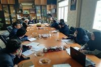 سومین جلسه کارگروه تخصصی مخاطرات زیست محیطی خراسان جنوبی برگزار شد