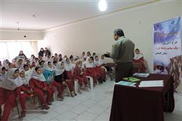 کلاس آموزشی یک ساعت با محیطبان در دبستان مهرگان شهرستان گرگان برگزار شد