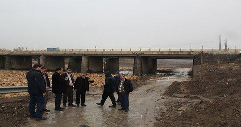 بازدید شهردار از مناطق حادثه خیز