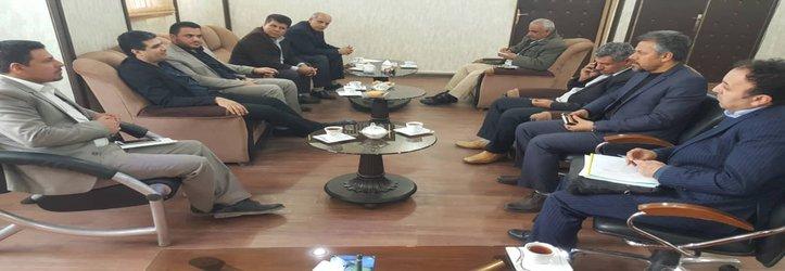 جلسه هماهنگی شهردار خرمشهر با معاونین ، شهرداران مناطق و مدیران عامل سازمان ها