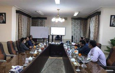 جلسه بررسی روند فعالیت بازآفرینی شهر ی شهرداری