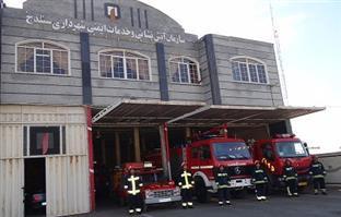 ۵۲ عملیات امداد و نجات و اطفاء حریق توسط سازمان آتش نشانی درسنندج انجام شد